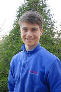 Lucas Kaspar, Auszubildender