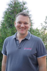 Sandro Bruckmeier, Ansprechpartner vor Ort