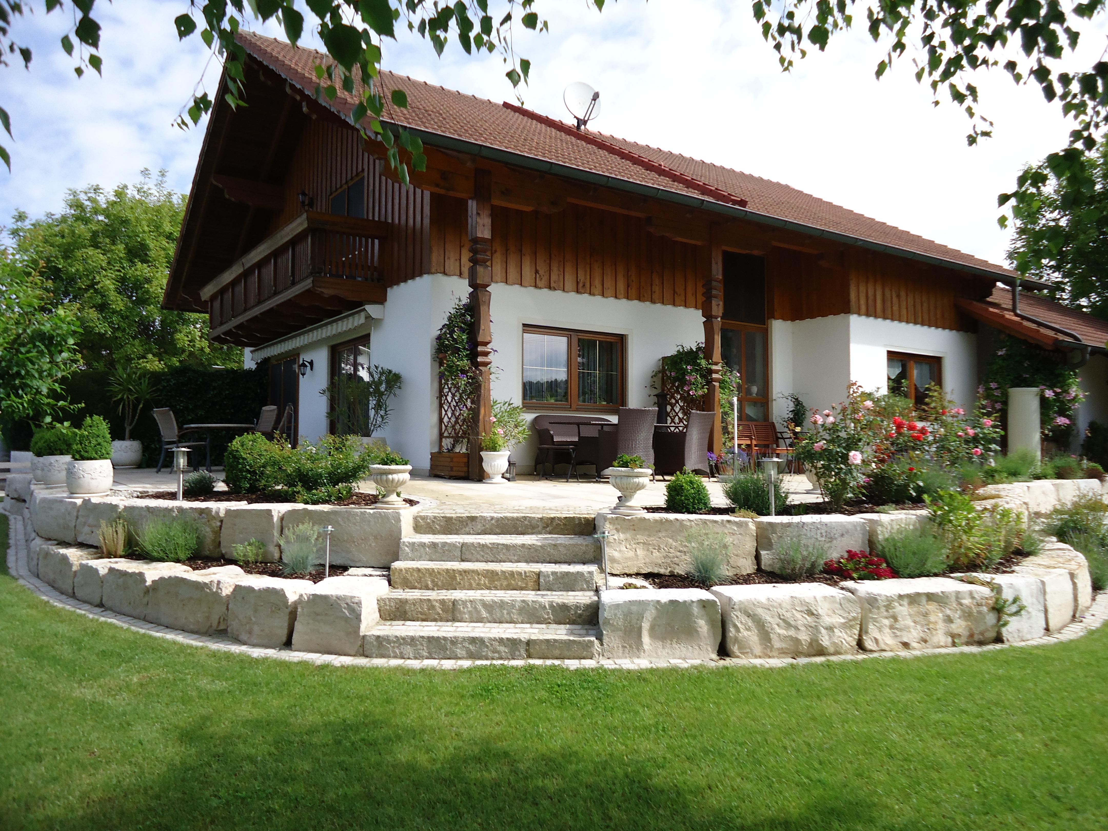 Umgestaltung des Gartens