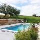 Garten mit Sonnenterrasse und Swimmingpool